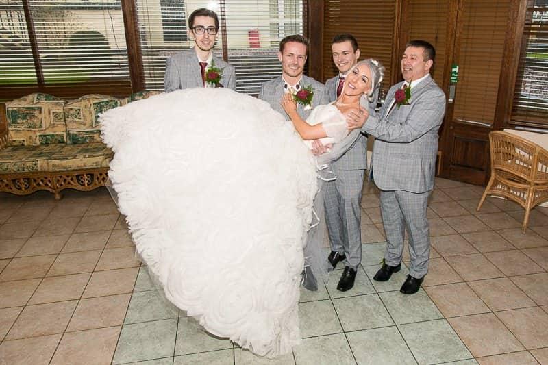 Wedding photographers in warrington